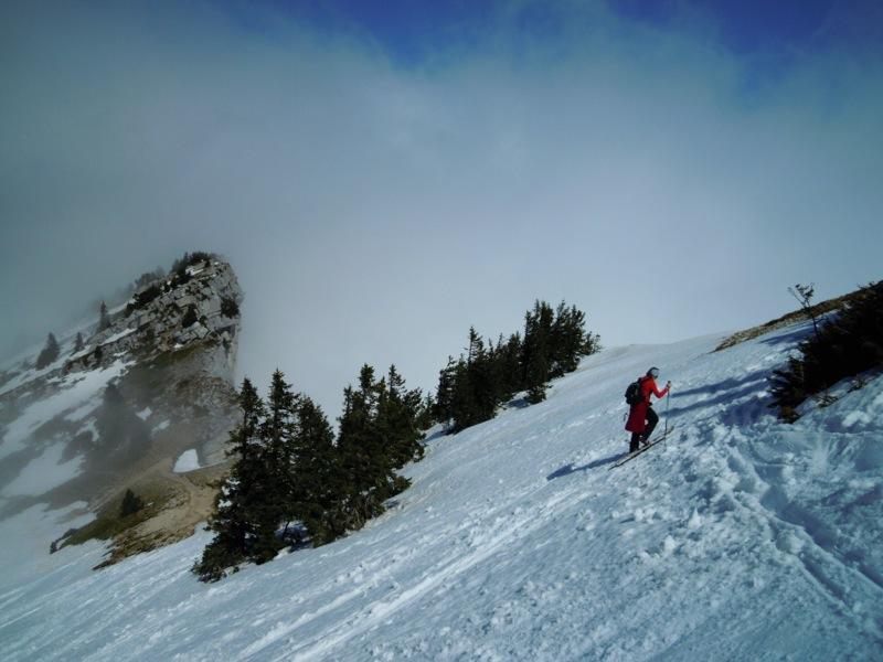 ski de randonnee pic saint michel vercors