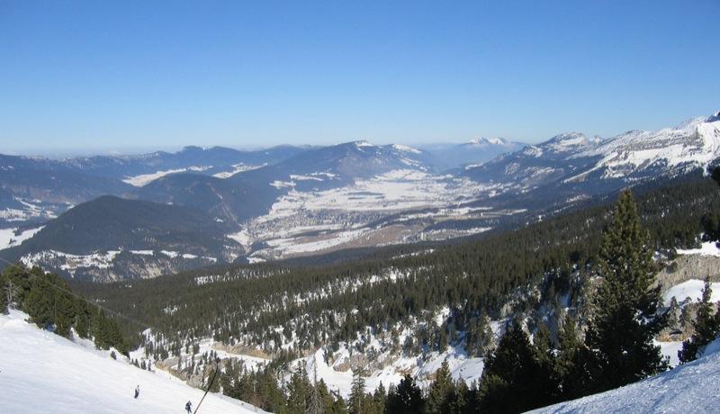 skier a villard de lans